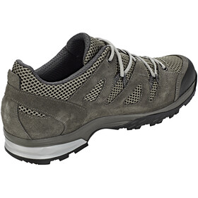 Lowa Phoenix Mesh Low Shoes Men dark grey/grey